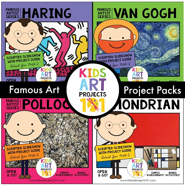 Famous Artists Art Lessons for Kids